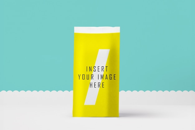 Download Free Psd Yellow Packaging Mock Up PSD Mockup Templates