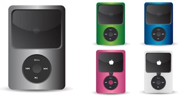 041 ipodのベクトルアイコン 無料ベクター
