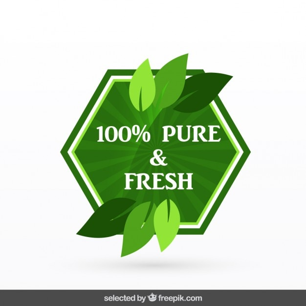 100 pure fresh vector free download