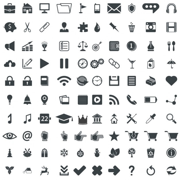 Signs And Symbols Vectors 20100 Free Files In AI EPS Format