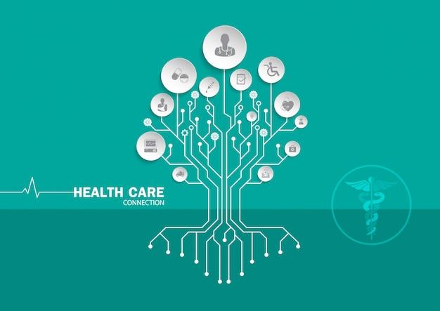 健康10 Premiumベクター