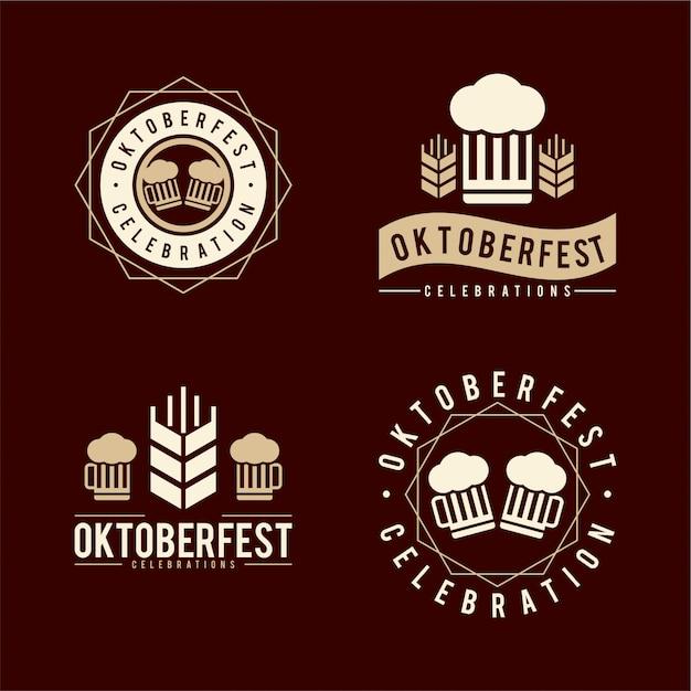 10月祭ロゴ Premiumベクター
