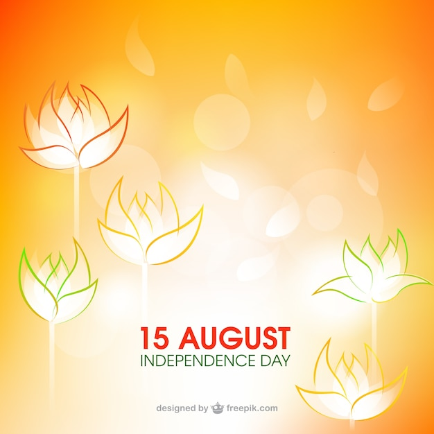 15 August Independence Day Vector