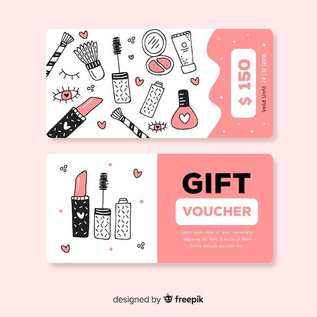 150$ gift voucher Free Vector