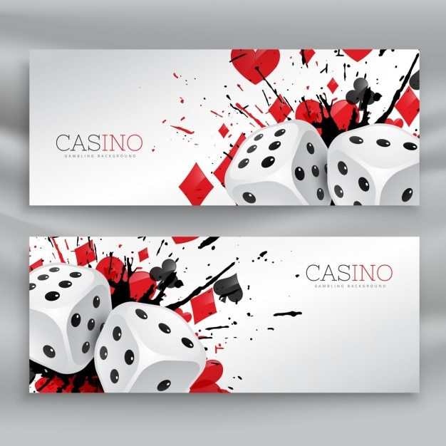 2 casino banners Vector | Free Download