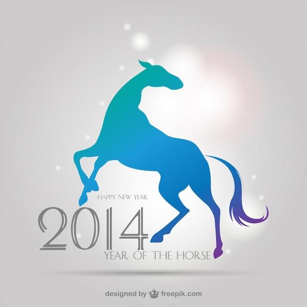 Вектор 2014 китайский знак зодиака Бесплатные векторы