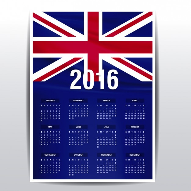 Callander United Kingdom  city pictures gallery : 2016 calendar of The United Kingdom Vector | Free Download