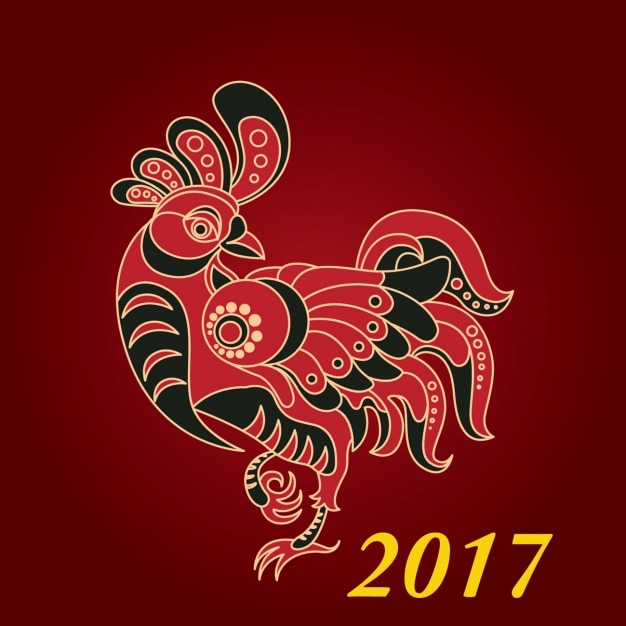 Открытка новый год 2017 вектор