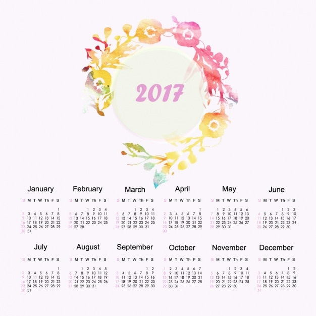 Calendar Design Freepik : Calendar design vector free download