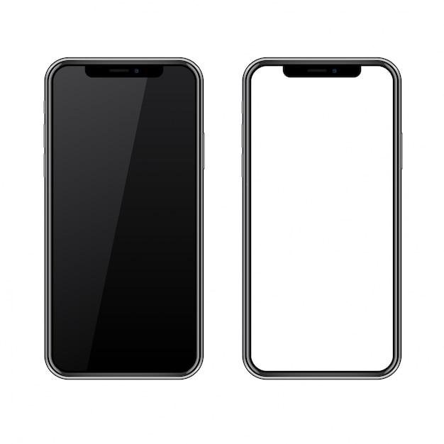 Современный телефон 2017 Premium векторы