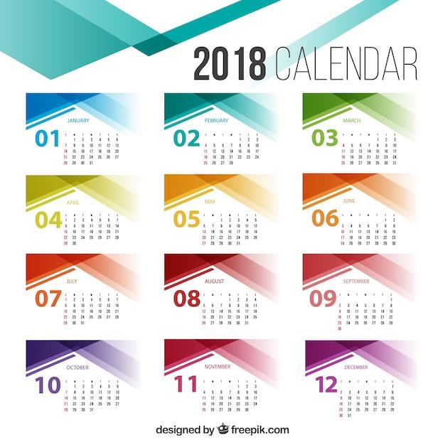 Calendar Design Size : Calendar template vector free download