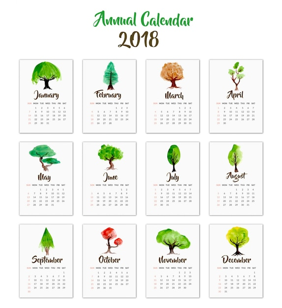 Calendar Design With Photos Free : Tree years vectors photos and psd files free download