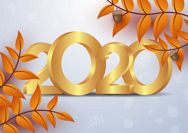 2019 happy new year background. Premium Vector