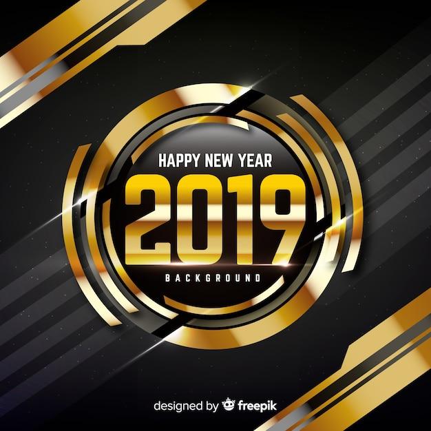 С новым годом 2019 года Бесплатные векторы