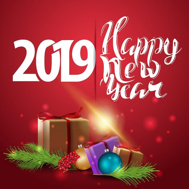 С новым годом на английском открытка 2019, гифки добрым утром