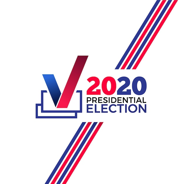 2020年米国大統領選挙の背景 Premiumベクター