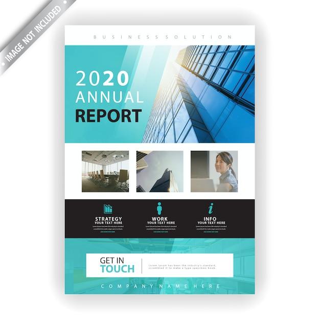 Листовка за 2020 год Бесплатные векторы