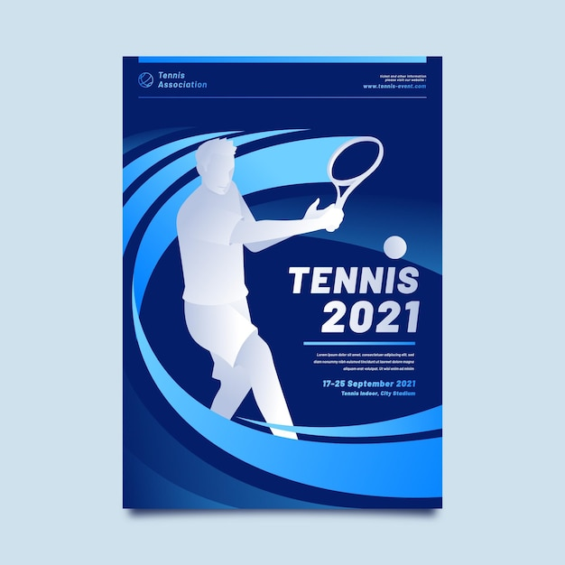 2021 sporting event poster Free Vector