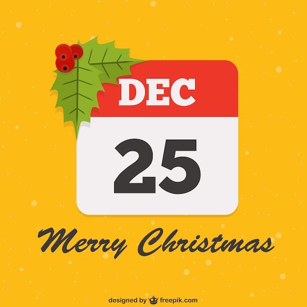 25 december vector Premium Vector