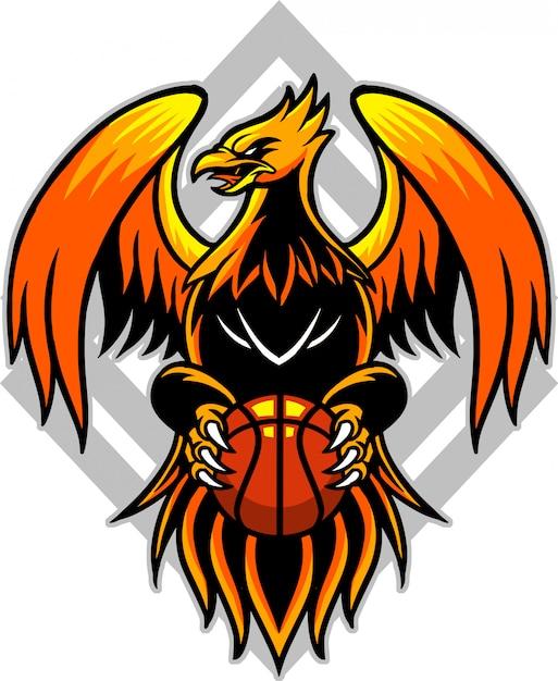 フェニックスバスケットボール2 Premiumベクター