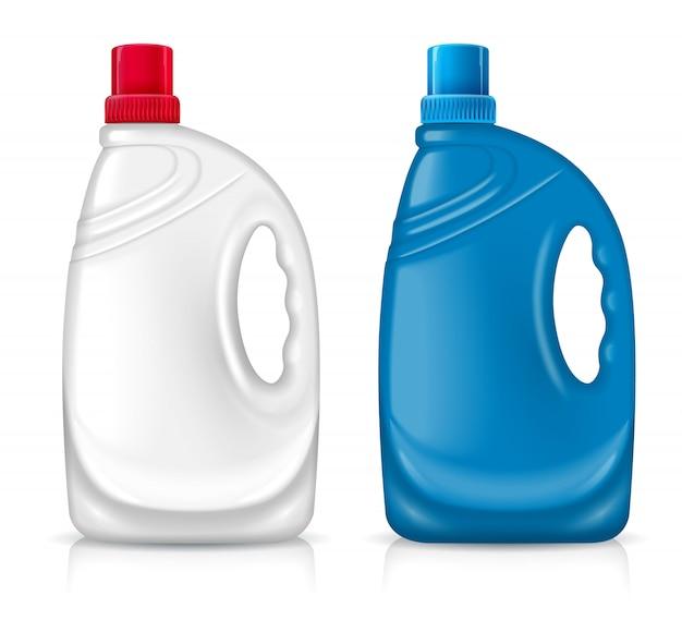 2つのペットボトル Premiumベクター