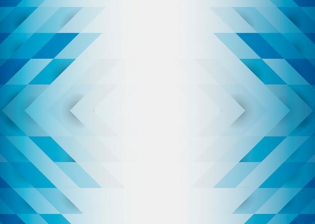 ブルーの3 dモダンな背景デザイン 無料ベクター