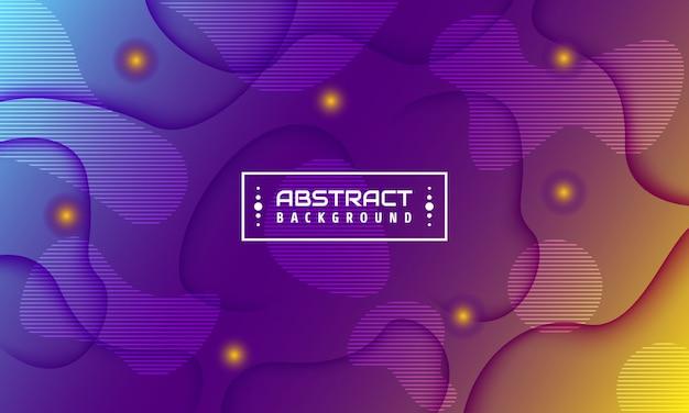 未来的な抽象的な背景。幾何学的な要素を持つ3 dイラスト。 Premiumベクター