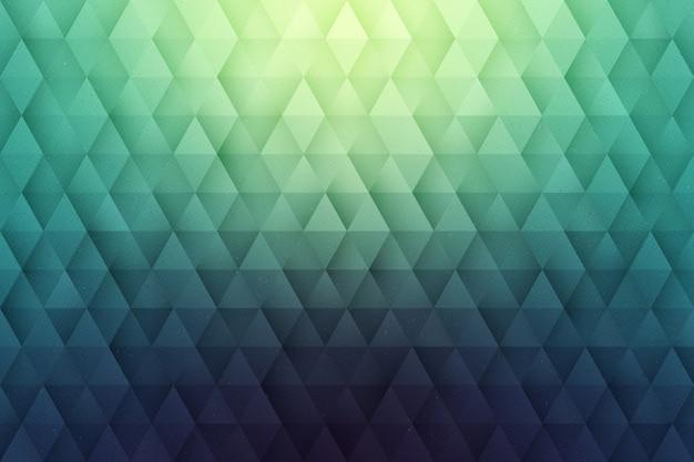 抽象的な3 dベクトルの幾何学的背景 Premiumベクター