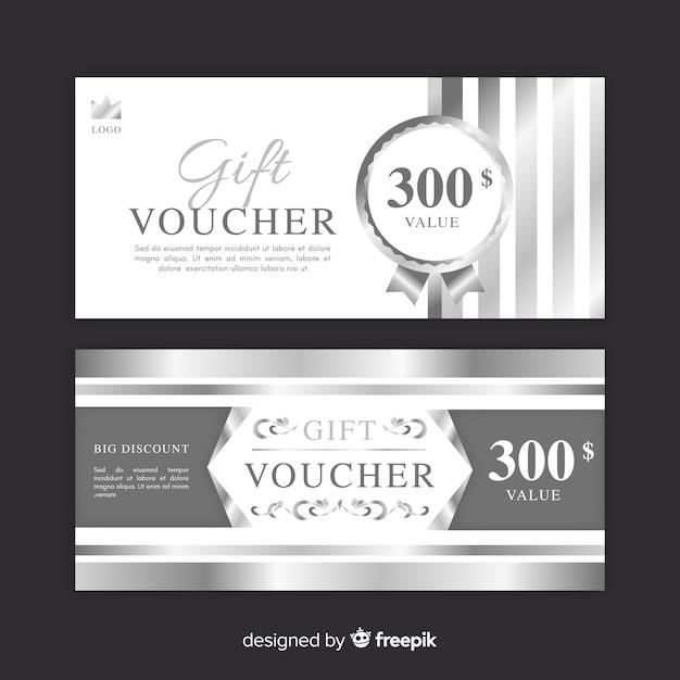 300$ gift voucher Free Vector