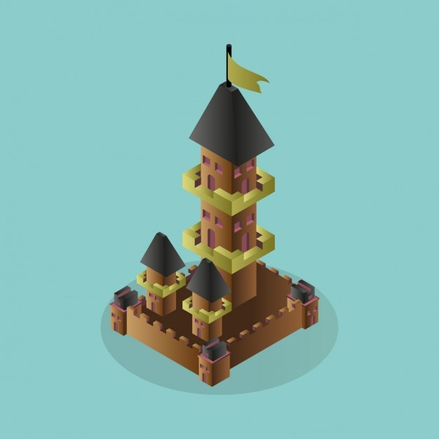 3d castle design vector free download Design a castle online