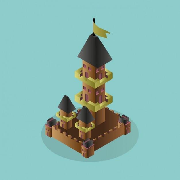 3d castle design