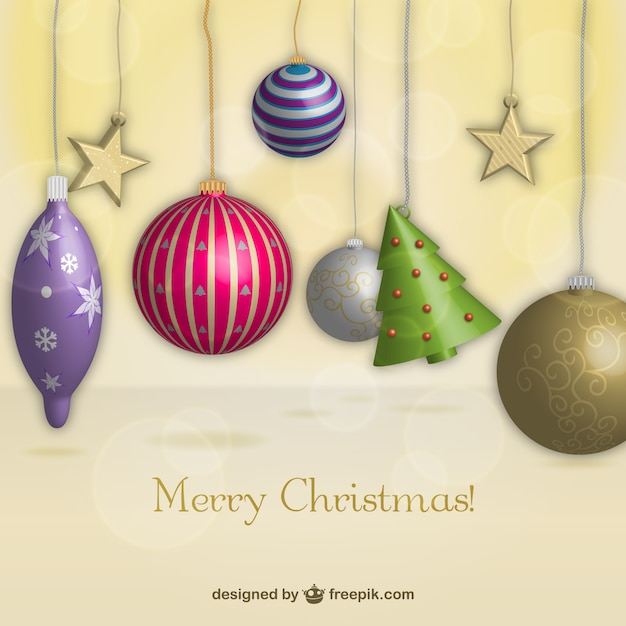 3D Christmas decoration