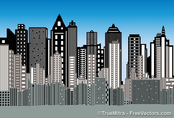 3d city buildings background vector free download spiderman logo vector free download spiderman logo vector image