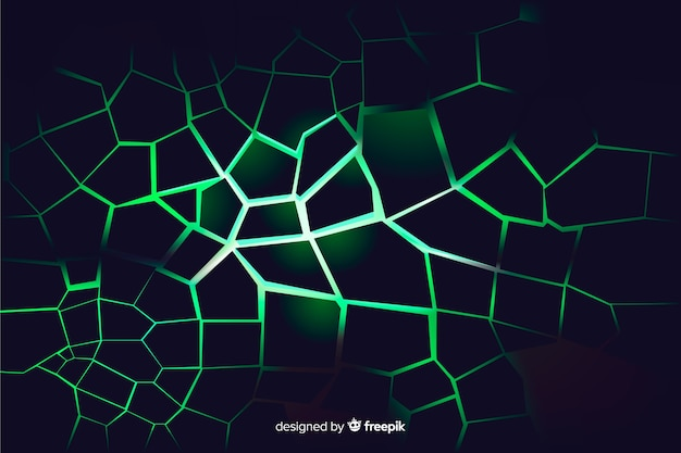 3d explosion with light background Free Vector