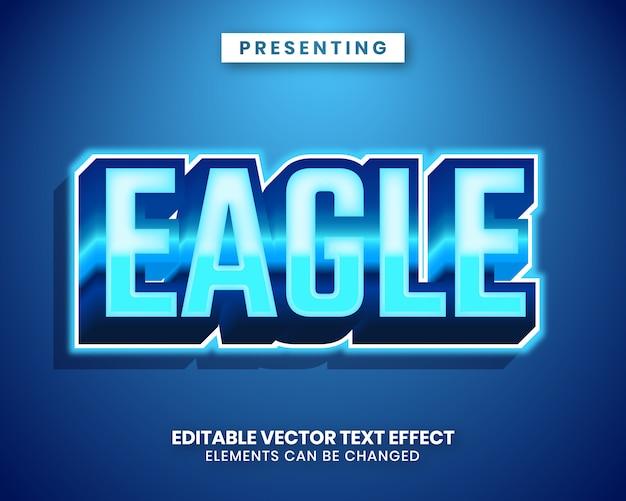 3d modern trendy style editable text effect Premium Vector