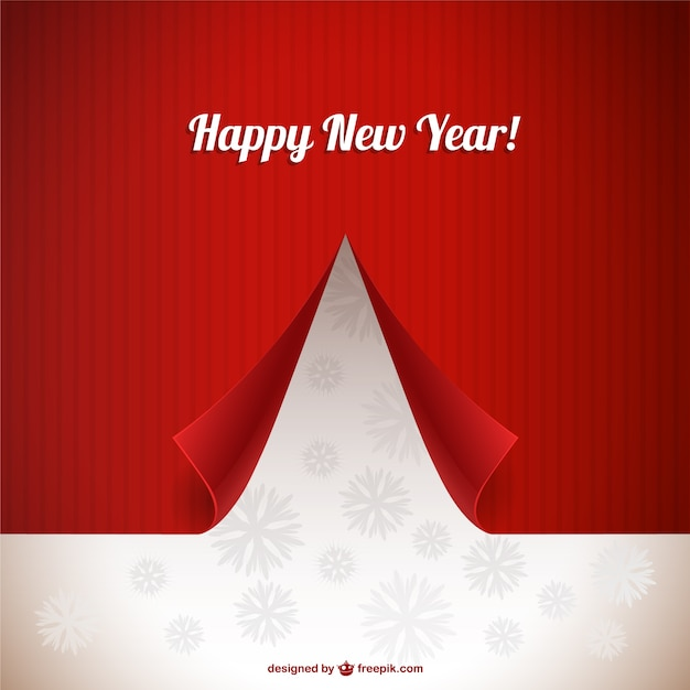 3D New year card