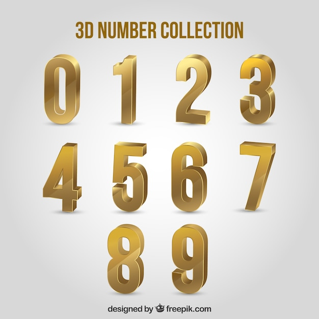 Number Vectors Photos And Psd Files Free Download