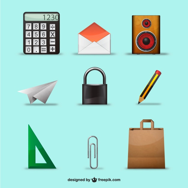 3d Objects Pack Vector Free Download