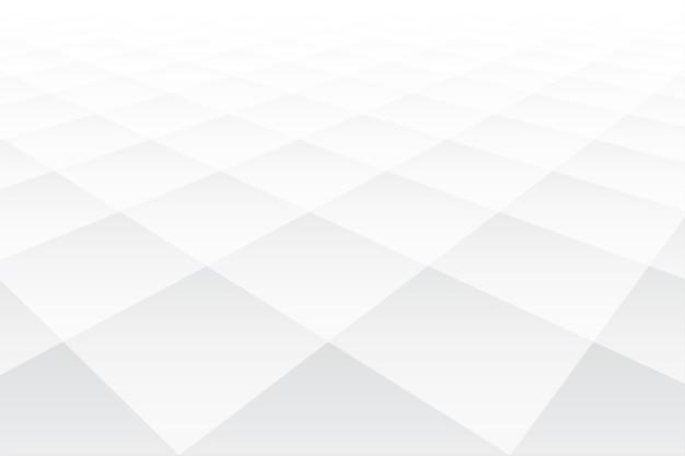 3d перспектива стиль ромбовидной формы белый фон Бесплатные векторы