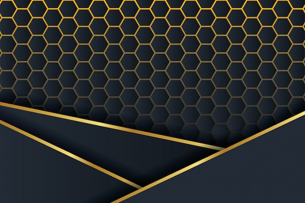 3d polygon background. Premium Vector