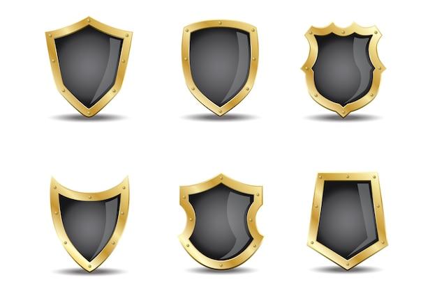 3d shield Vector | Premium Download