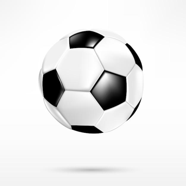 3D Soccer ball Premium Vector c1b4577f16415