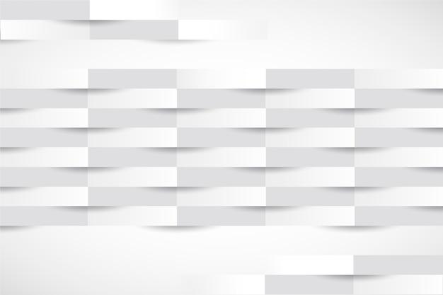 Priorità bassa delle bande 3d nello stile di carta Vettore gratuito