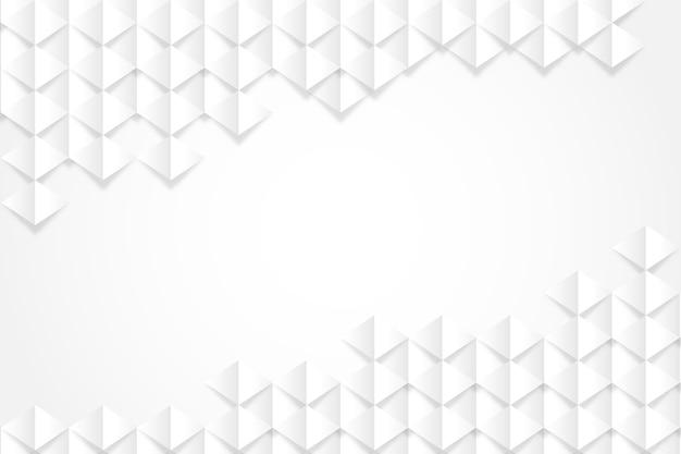 Абстрактные обои в 3d стиле бумаги Бесплатные векторы