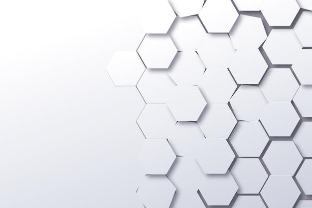 Абстрактный фон в стиле 3d бумаги Бесплатные векторы