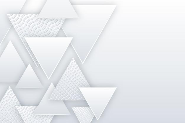 Тема бумаги стиля предпосылки 3d Бесплатные векторы