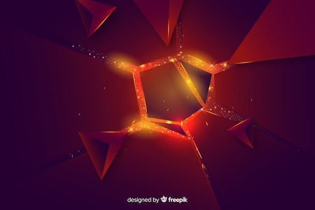3d взрыв на светлом фоне Бесплатные векторы