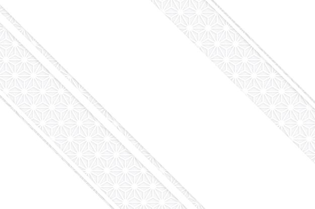 3d бумага в стиле слоев белого фона Бесплатные векторы