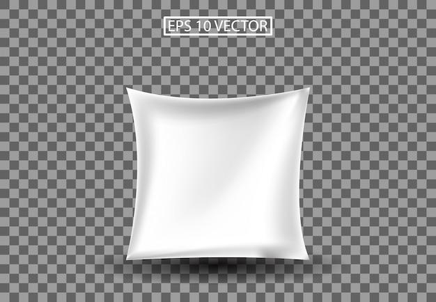 Подушка 3d иллюстрации Premium векторы