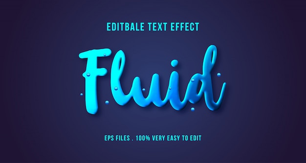 3d текстовый эффект, редактируемый текст Premium векторы